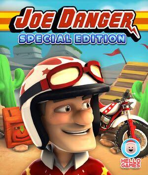 Joe Danger - PS Vita cover