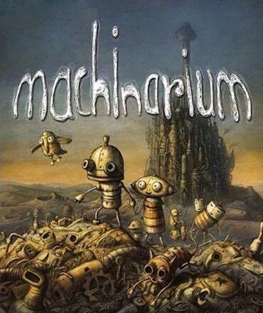 Machinarium - PS Vita cover