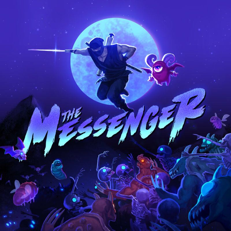 The Messenger - Switch eShop cover