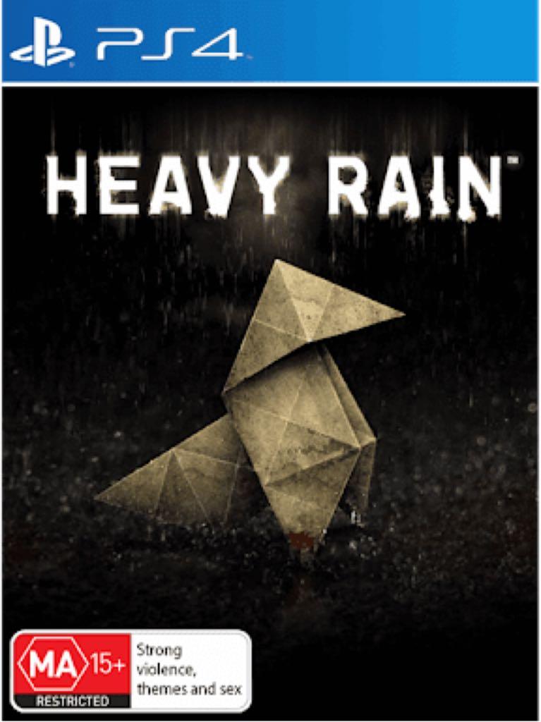 Heavy Rain - PS4 cover