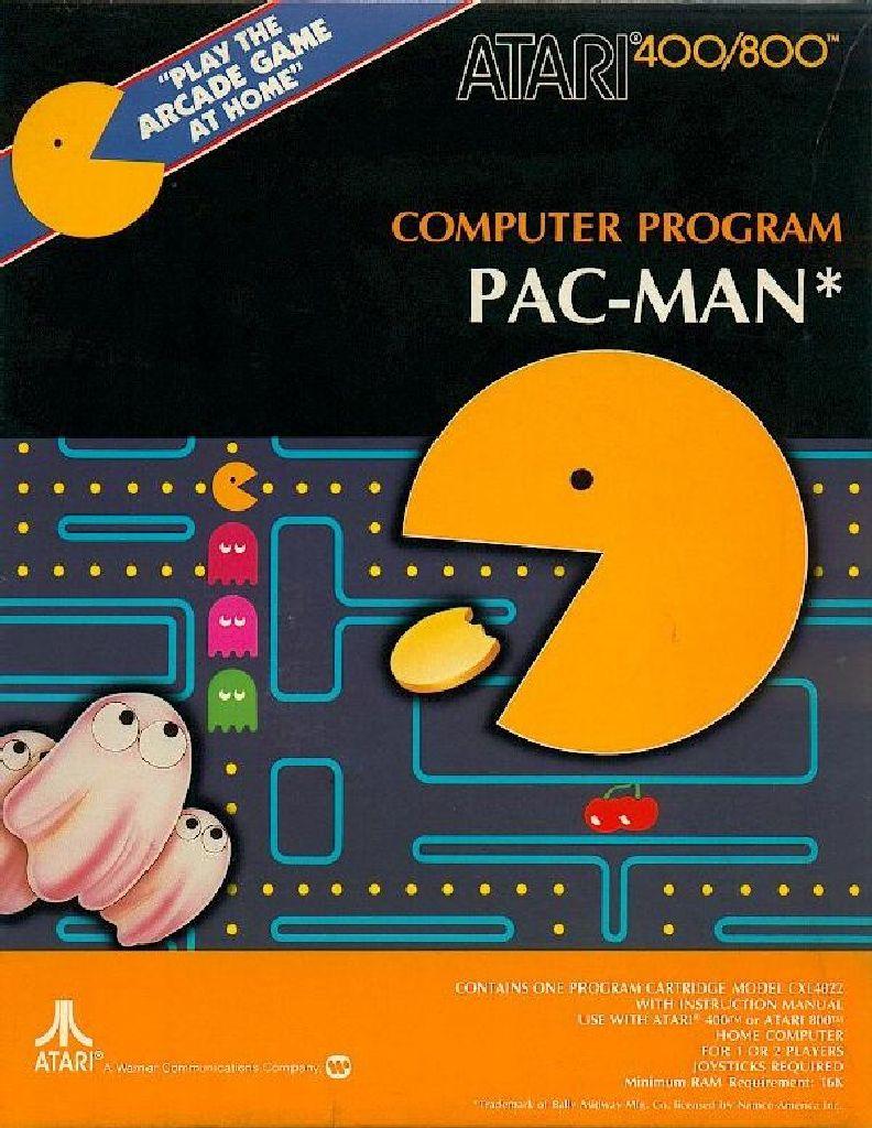 Pac Man - Atari XE cover
