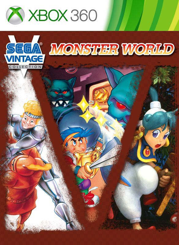 Sega Vintage Collection: Monster World - Xbox One cover