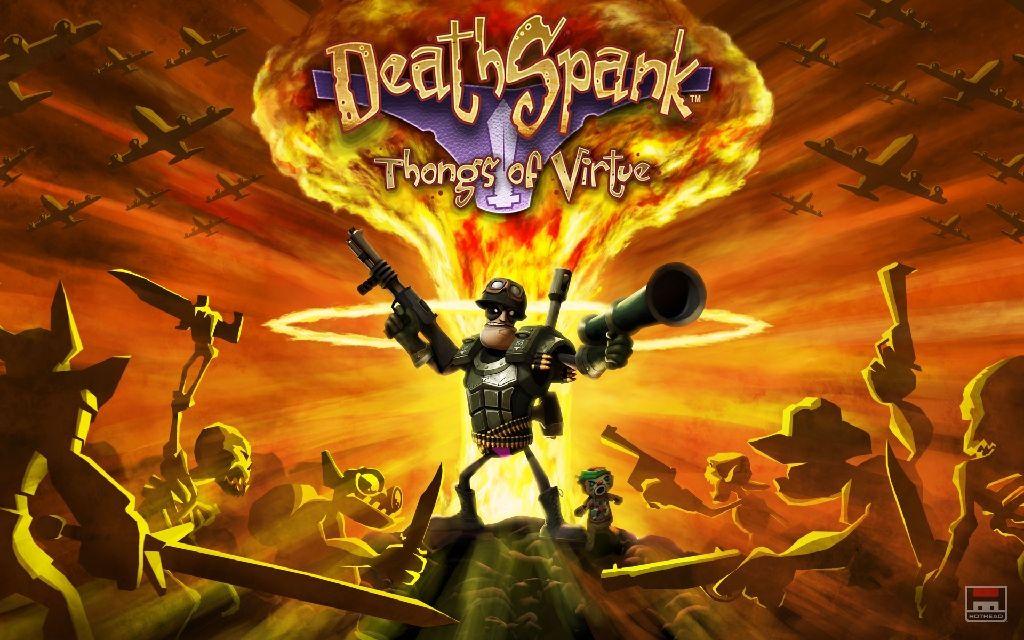 Deathspank - Steam cover