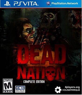 Dead Nation - PS Vita cover