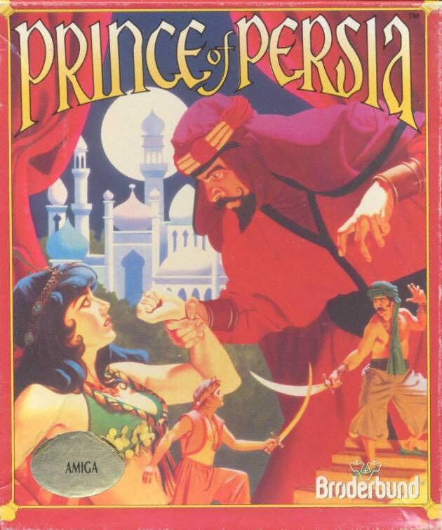 Prince of Persia - Commodore Amiga cover