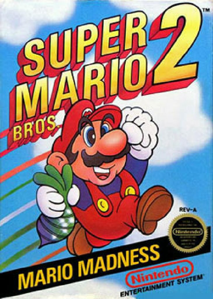 Super Mario Brothers 2 - Wiiware cover