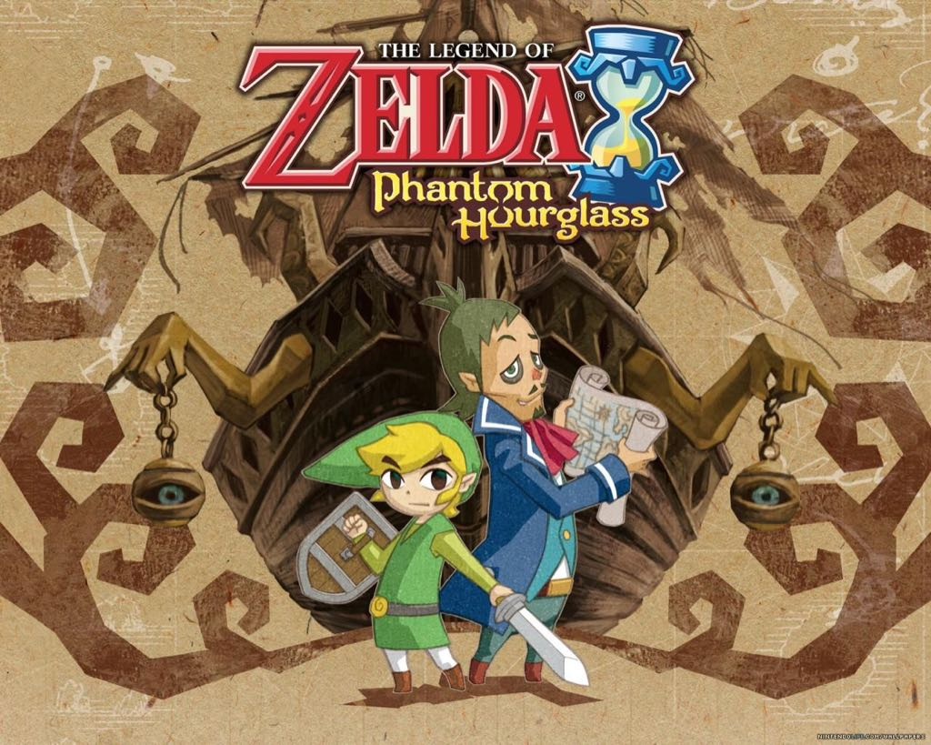 The Legend of Zelda: Phantom Hourglass - Wii U Virtual Console cover