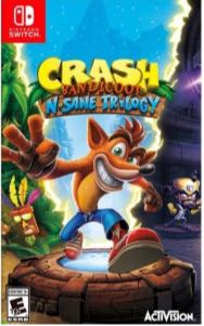 Crash Bandicoot - Switch cover