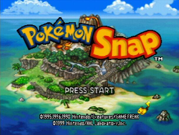 Pokemon Snap - Wii U Virtual Console cover