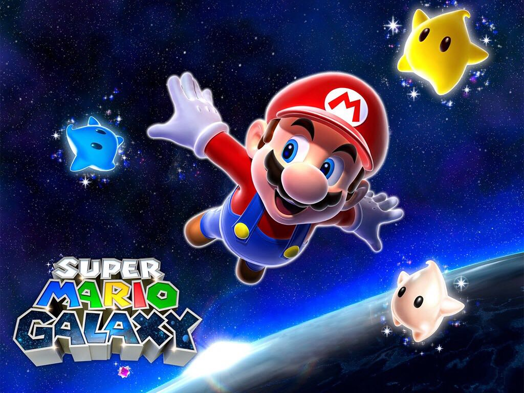 Super Mario Galaxy - Wii U Virtual Console cover