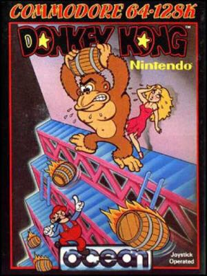 Donkey Kong - Commodore 64 cover