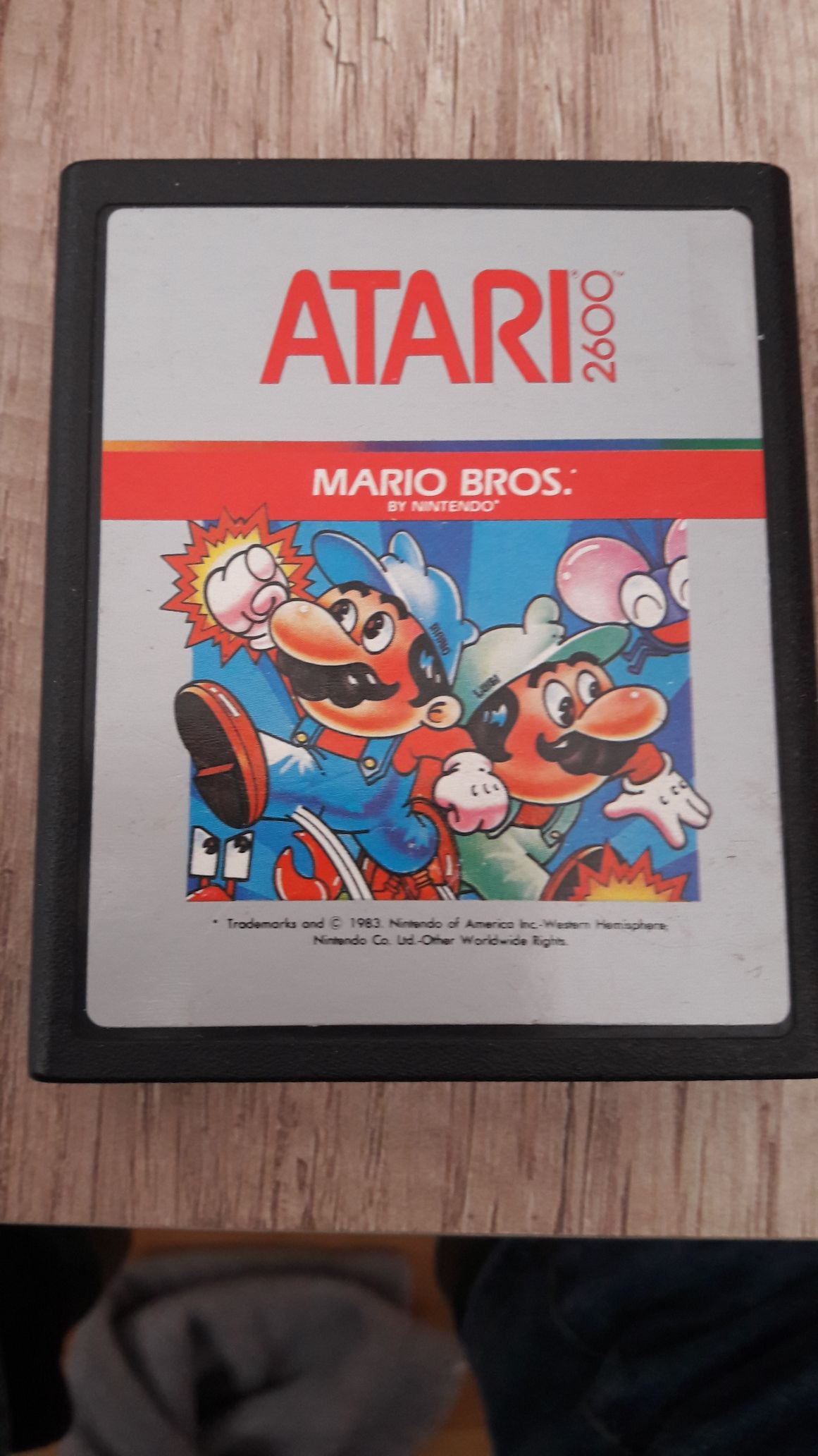 New Super Mario Bros. - Atari 2600 cover