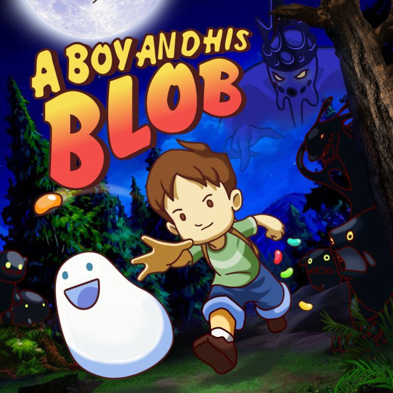 A Boy And His Blob - Xbox Live cover