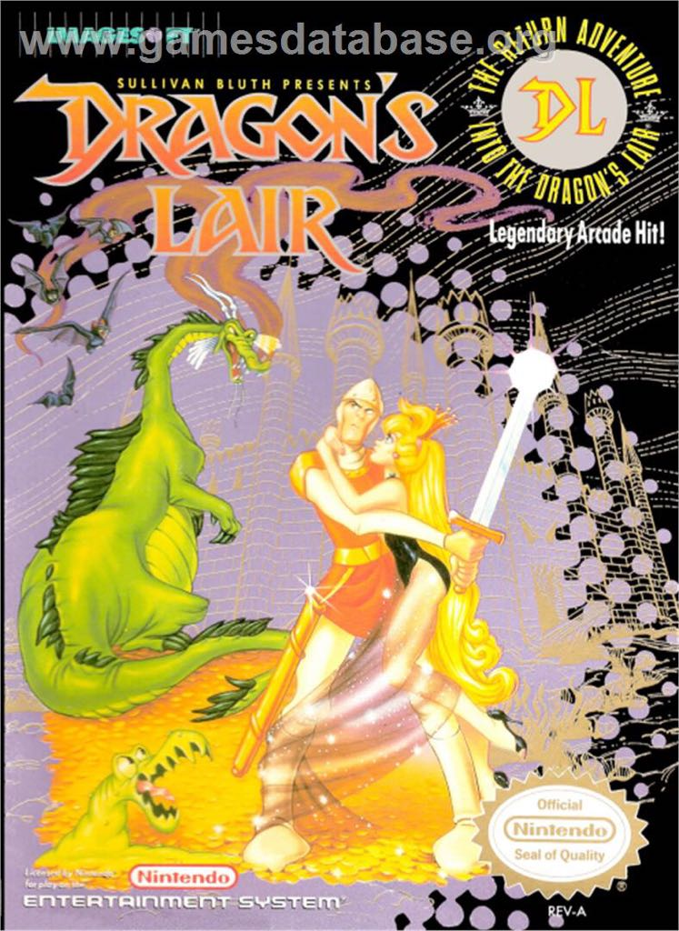 Dragons Lair - NES Classic Edition cover