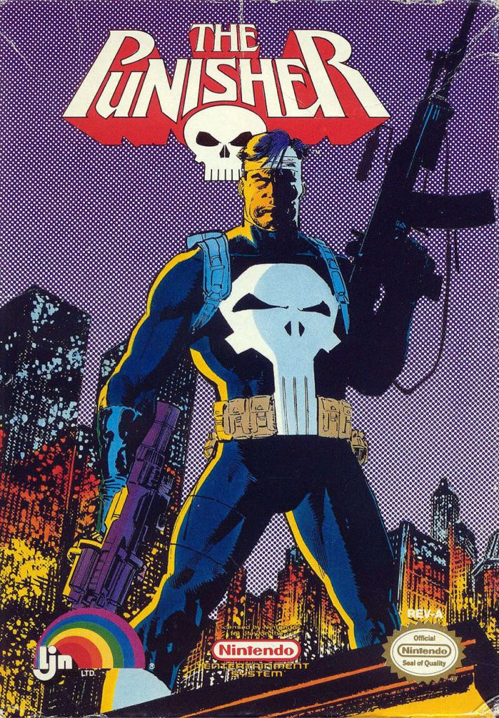 The Punisher - NES Classic Edition cover