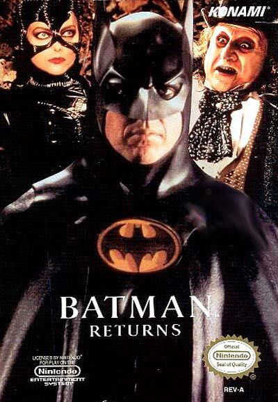 Batman Returns - NES Classic Edition cover