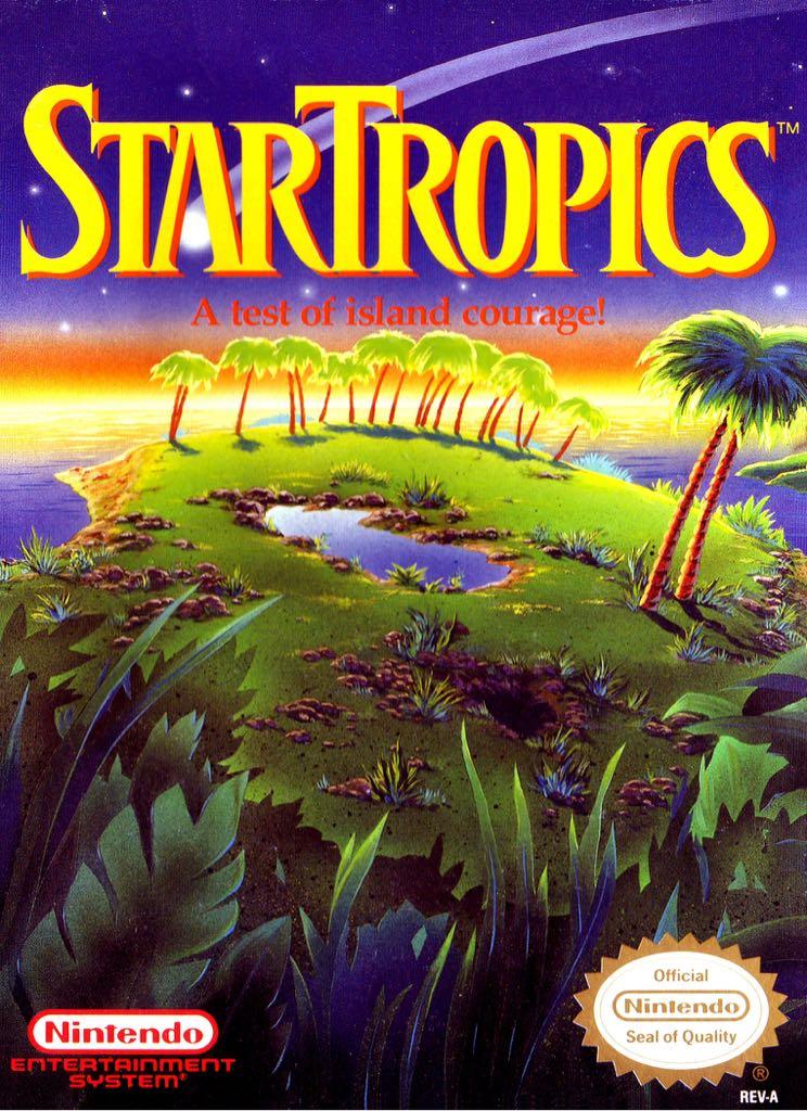 StarTropics - NES Classic Edition cover