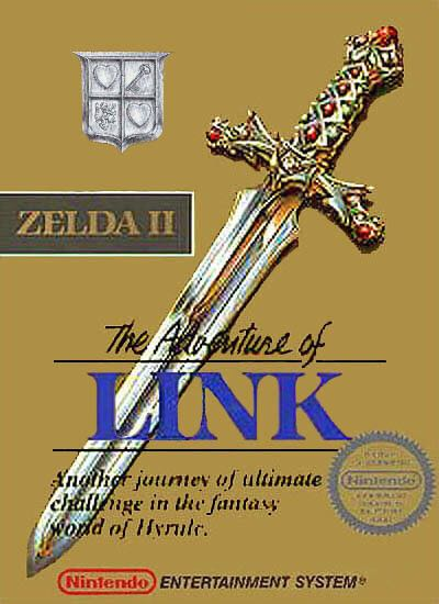 Zelda II: The Adventure of Link - NES Classic Edition cover