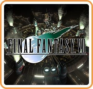 Final Fantasy VII - Switch cover