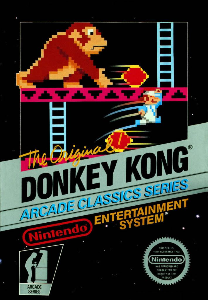 Donkey Kong - Switch cover
