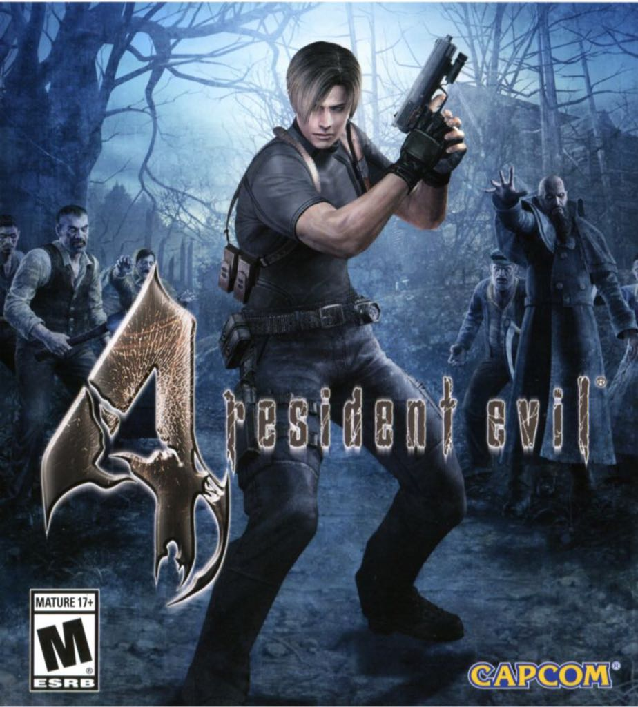 resident evil 4 - Switch eShop cover
