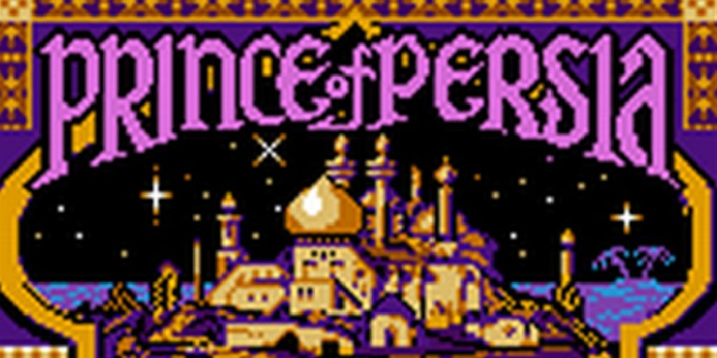 Prince of Persia - 3DS Virtual Console cover