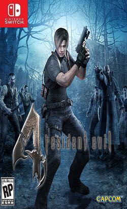 resident evil 4 - Switch cover
