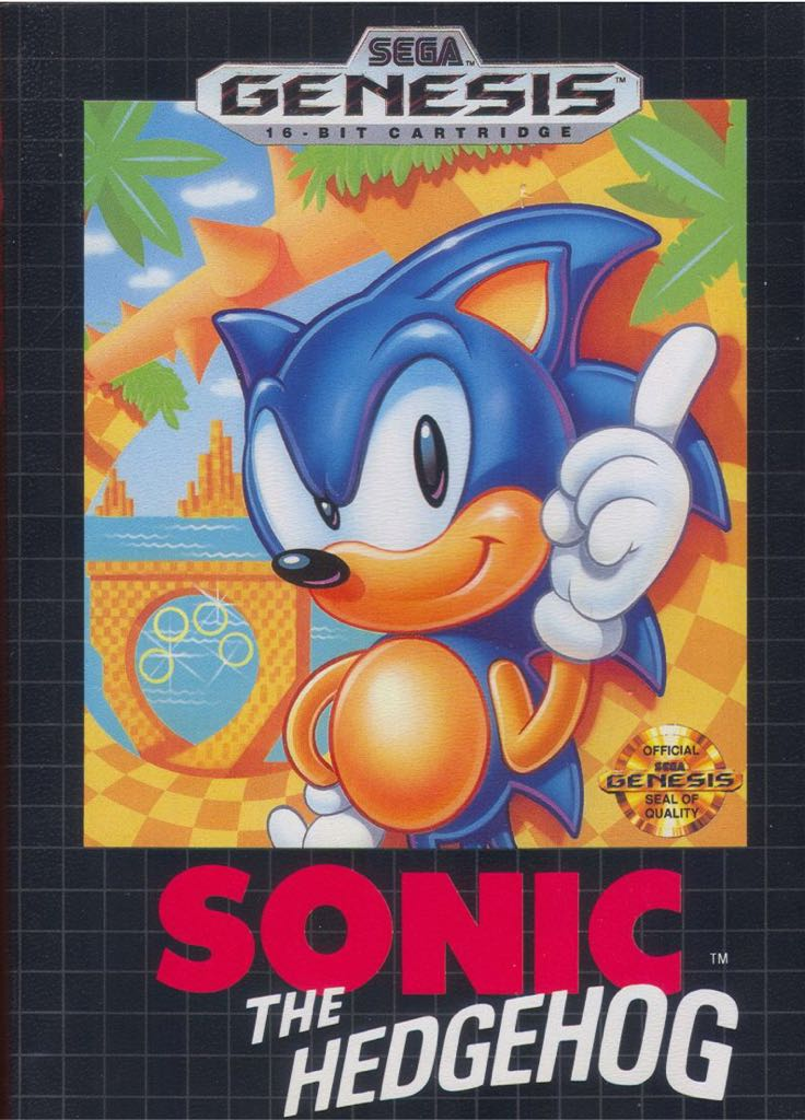 Sonic The Hedgehog - Switch eShop cover