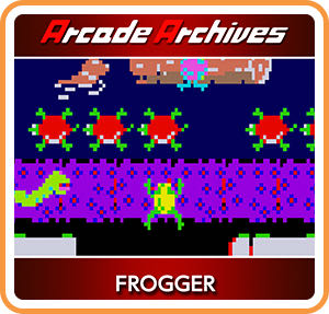 Frogger - Switch eShop cover
