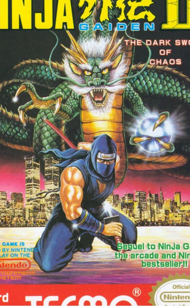 NINJA GAIDEN - NES Classic Edition cover