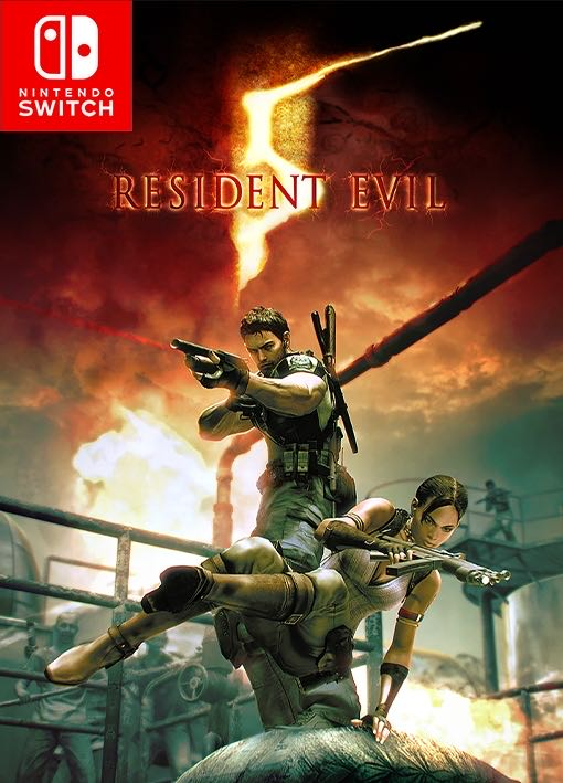 Resident Evil 5 - Switch cover