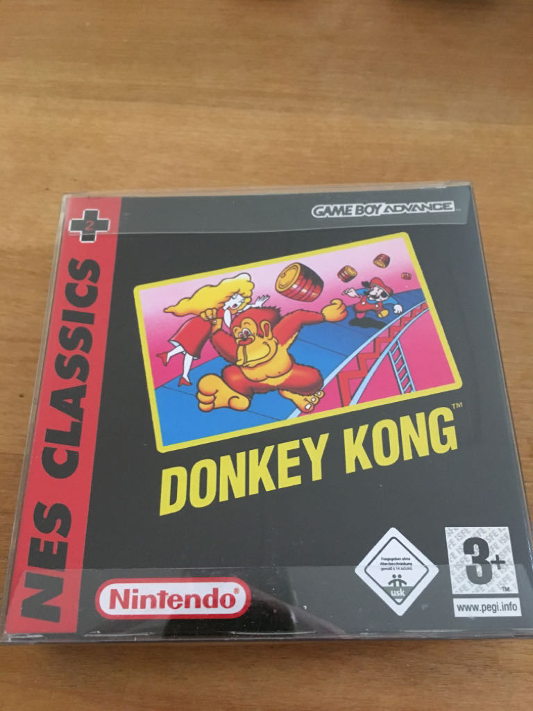 Donkey Kong - Game Boy Advance cover