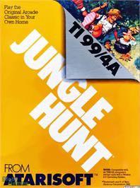 Jungle Hunt - Texas Instruments TI-99 cover