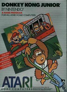 Donkey Kong Jr. - Atari XE cover