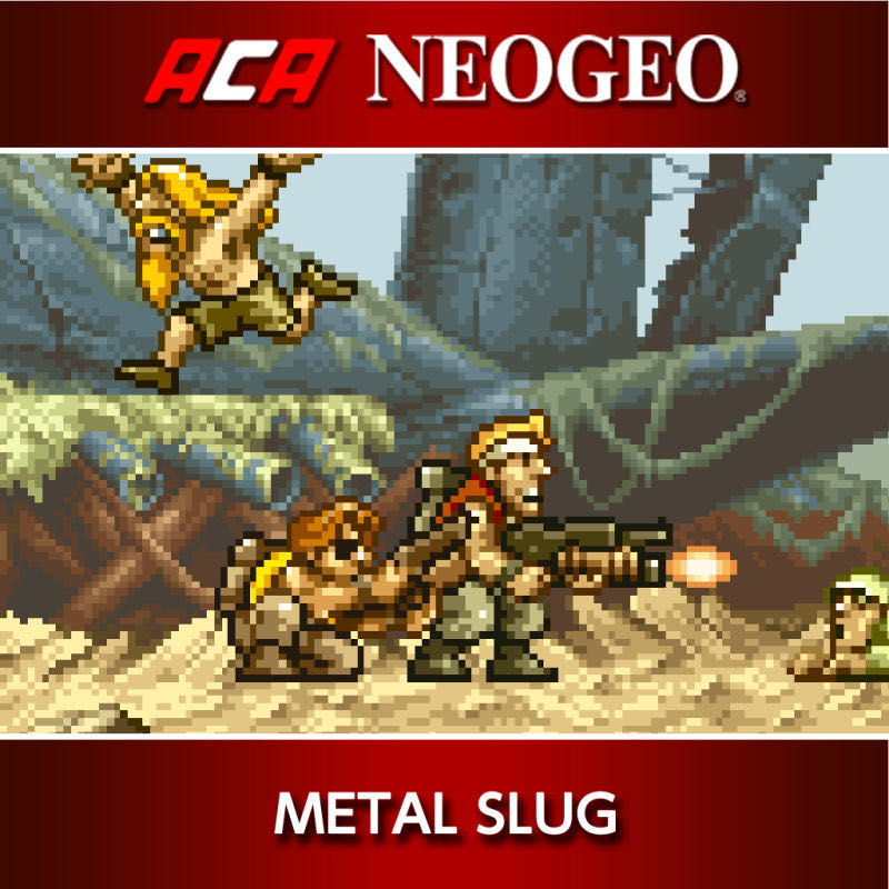 Metal Slug - Switch eShop cover