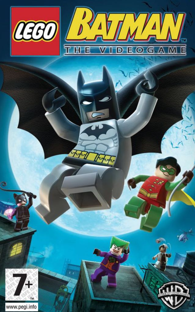 Lego Batman The Videogame - Other cover