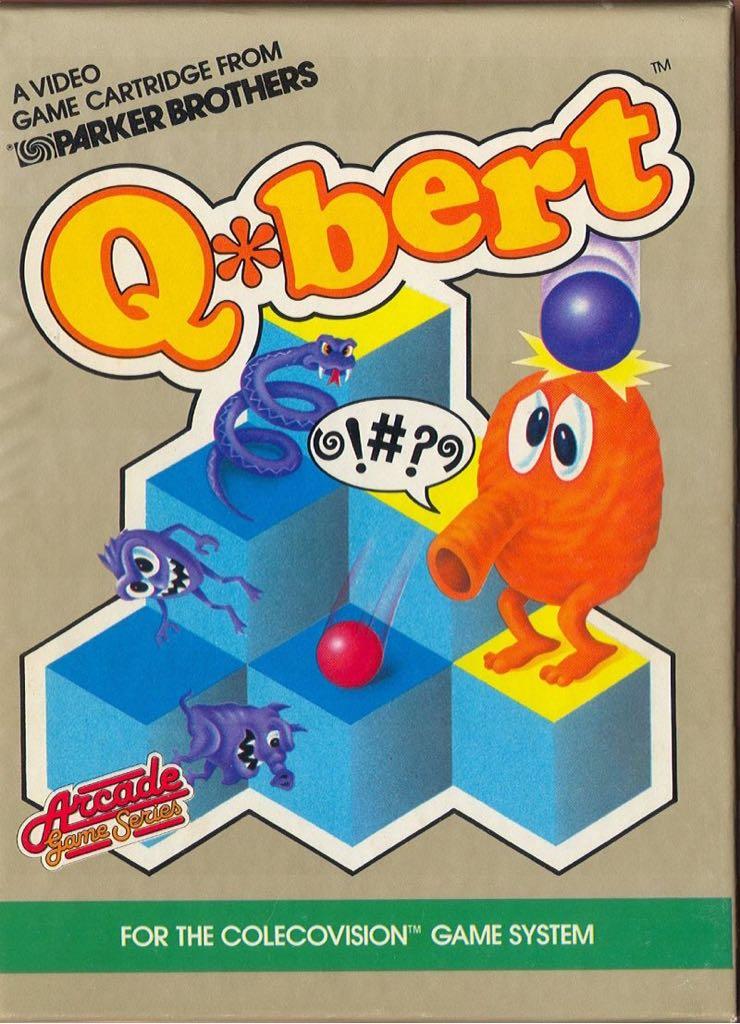 Q-Bert - Colecovision cover
