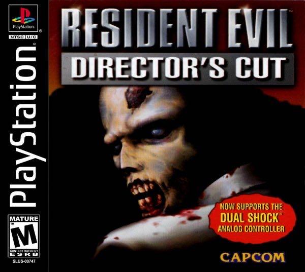 Ultimate Resident Evil: Director's Cut - PS Vita cover