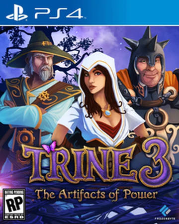 Trine 3 The Artefacts Of Power - PS4 cover