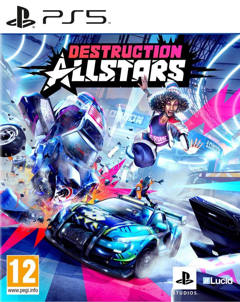 Destruction Allstars - PS5 cover