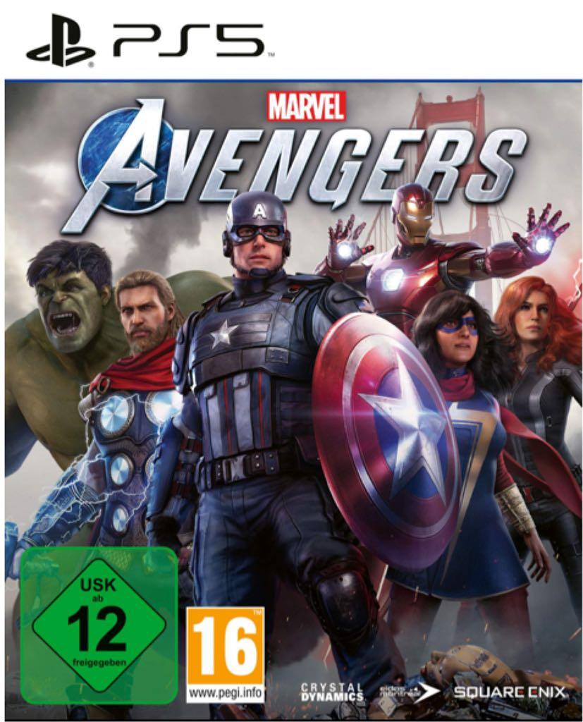 Marvel's Avengers - PS5 cover