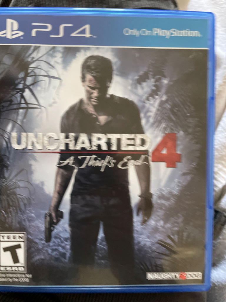 Uncharted four - PS4 cover