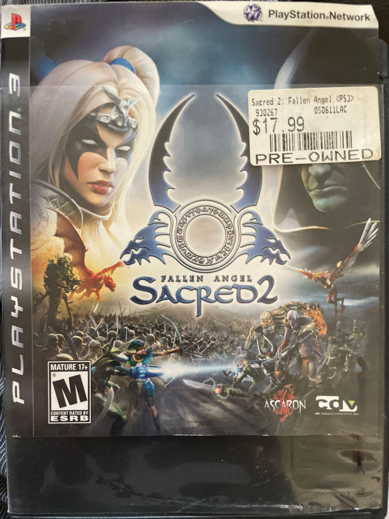 Sacred Two - PS3 cover