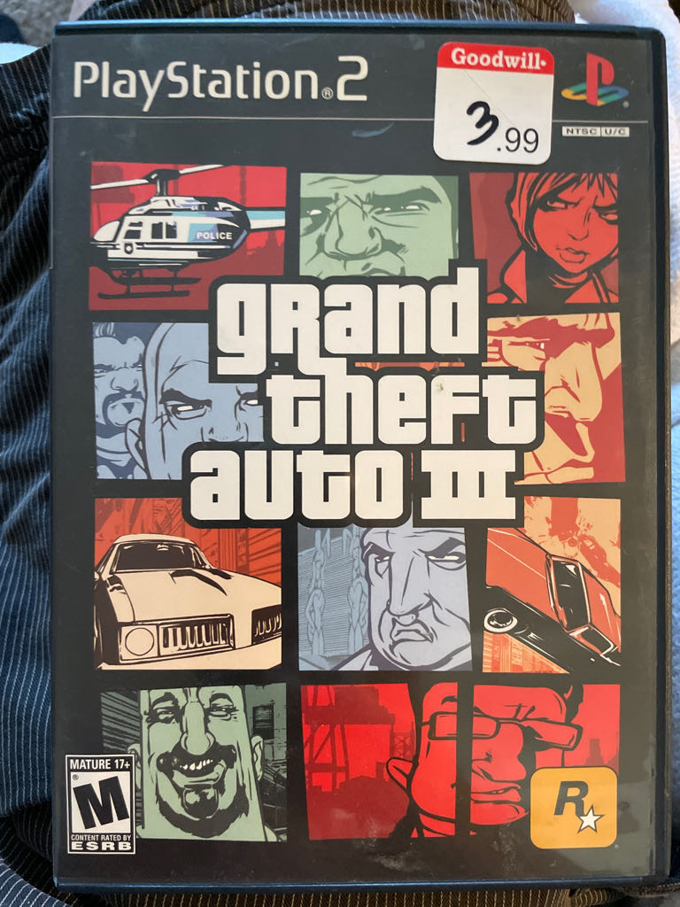 Grandtheft Auto 2 - PS2 cover