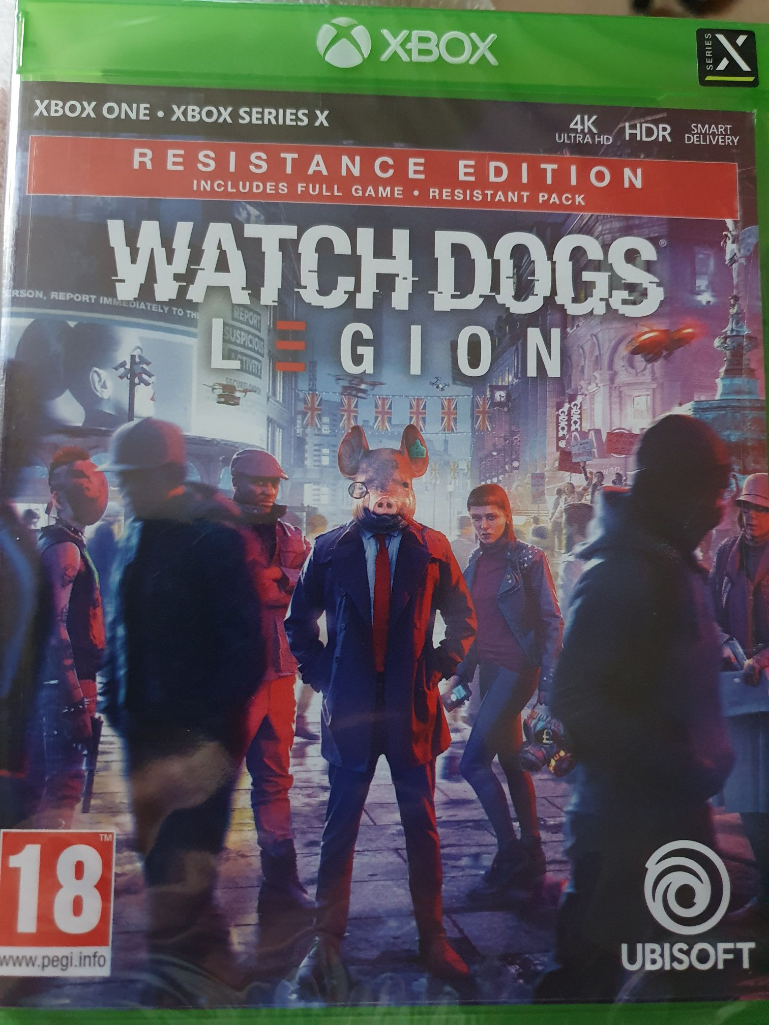Watch Dogs Legion - Resistance Edition - Xbox One cover