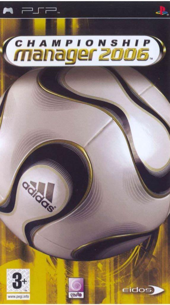 Champions Manger 06  - PSP cover