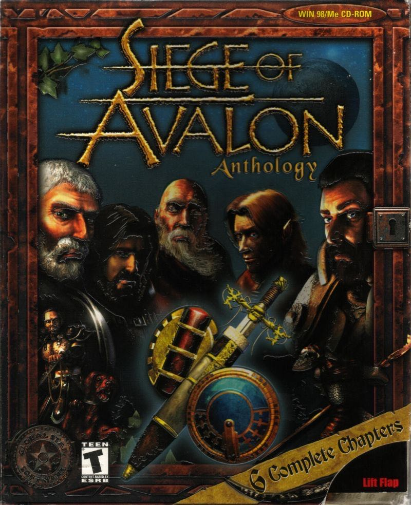 Siege Of Avalon Pc (polish) - PC cover
