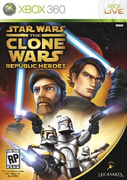 Star Wars The Clone Wars: Republic Heroes - 023272338763