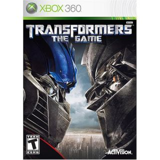 Transformers The Game - 047875822276