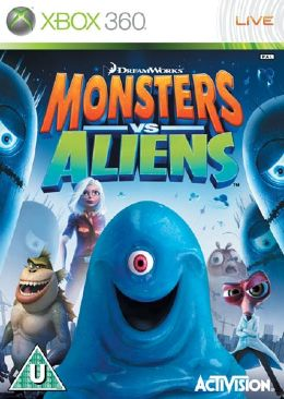 Monsters Vs Aliens - 047875834972